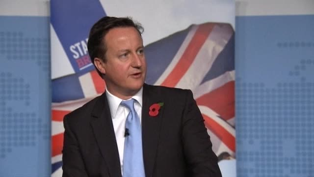 uk prime minster david cameron on the future of the euro - financial accessory stock videos & royalty-free footage