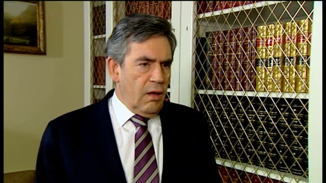 prime minster urges military to remain in uniform amidst attack fears london downing street int gordon brown mp interview sot i condemn any members... - military uniform stock videos and b-roll footage