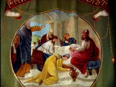 vidéos et rushes de primitive methodist banners - protestantisme