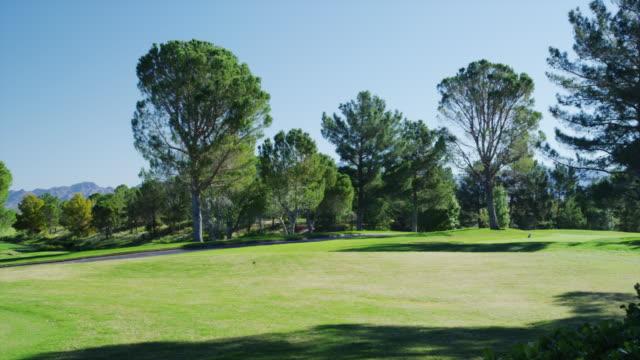 primm valley golf course - golfplatz green stock-videos und b-roll-filmmaterial