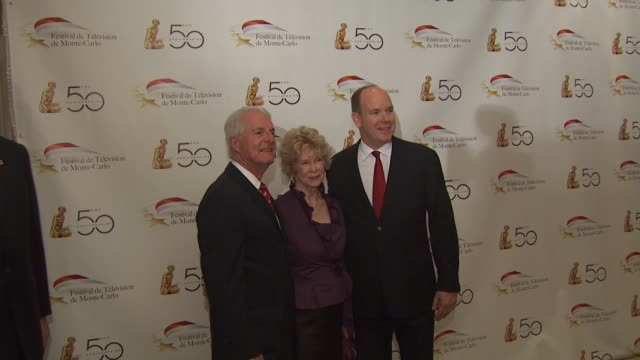 hsh prince albert ii of monaco at the monte carlo television festival cocktail party at beverly hills ca - monaco royalty stock videos & royalty-free footage