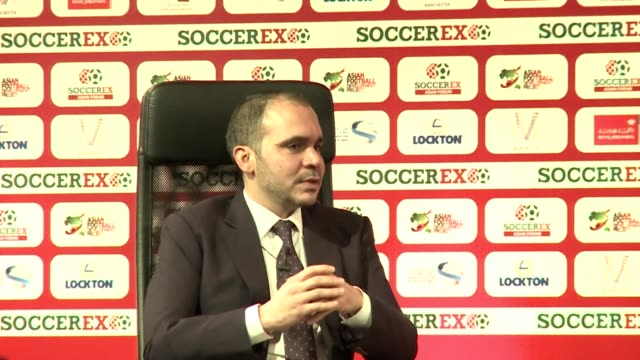 prince ali of jordan, one of the candidates for fifa presidency, says change needs to take place at the head of the fifa institution where he... - fifa stock videos & royalty-free footage