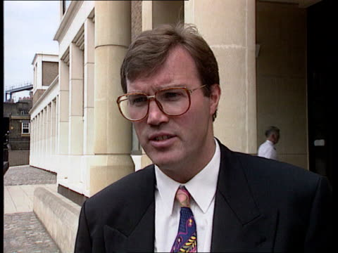 prince and princess of wales: divorce; cms andrew morton intvw sot ext cms lord blake intvw sot - future for diana is in her charitable work - divorce stock videos & royalty-free footage