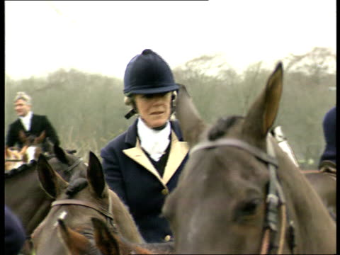 divorce u12129401 itn ext glos cms camilla parkerbowles hunting with the beaufort hunt - camilla duchess of cornwall stock videos and b-roll footage