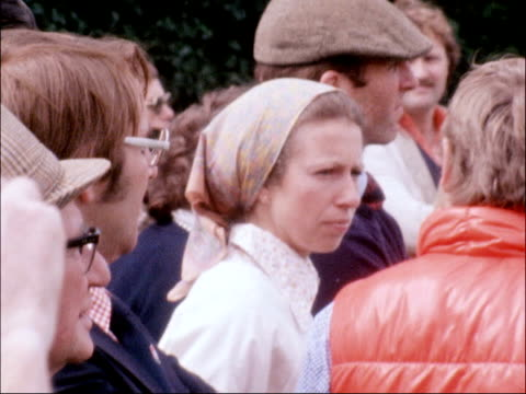 prince andrew and mark phillips clay pigeon shooting; england: cheshire: sealand : ext sv jenny hanley shoots bv one shoots cms man shoots at clay... - clay pigeon shooting stock videos & royalty-free footage