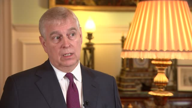 prince andrew hosts 'pitch@palace' business event for entrepreneurs england london st james' palace photography** prince andrew duke of york... - palace stock-videos und b-roll-filmmaterial