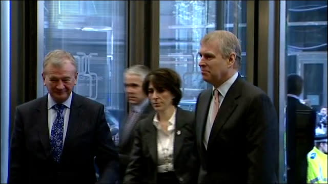 Prince Andrew named in underage sex case claim R07031106 London Canary Wharf CrossRail HQ PHOTOGRAPHY*** Prince Andrew the Duke of York greeted on...