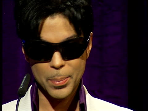 prince announces 21 gigs across london: press conference; prince press conference sot - tour music, amy winehouse, choosing which songs to play /... - amy winehouse stock-videos und b-roll-filmmaterial