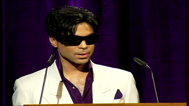 prince announces 21 gigs across london; prince press conference sot - on how he plays so many different styles of music it is hard to get a full dose... - dose stock videos & royalty-free footage