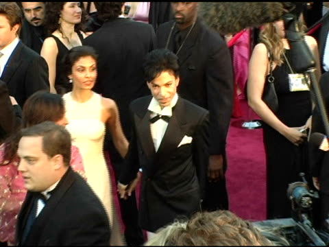 prince at the 2005 annual academy awards arrivals at the kodak theatre in hollywood, california on february 28, 2005. - prince stock videos & royalty-free footage