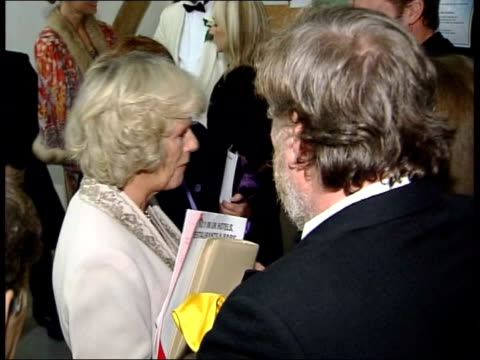 prince charles and camilla attend shakespeare evening int prince of wales talking to actress gwyneth paltrow cms prince charles and camilla talking... - william shakespeare stock videos and b-roll footage