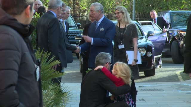 Prince Charles and Camilla Duchess of Cornwall on January 28 2016 in London England