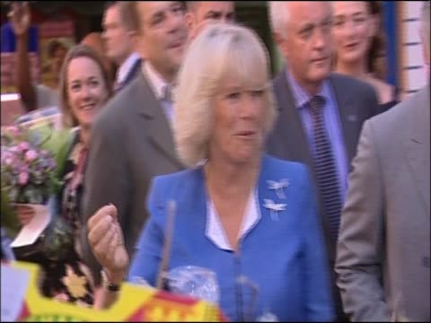 Prince Charles and Camilla Duchess of Cornwall visit Brixton Market