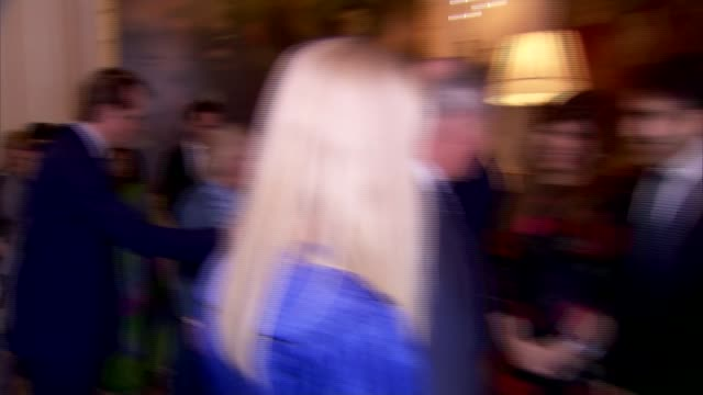 prince charles and camilla host reception to launch 'travels to my elephant' rickshaw race england london clarence house photography** people... - joanna lumley stock videos & royalty-free footage