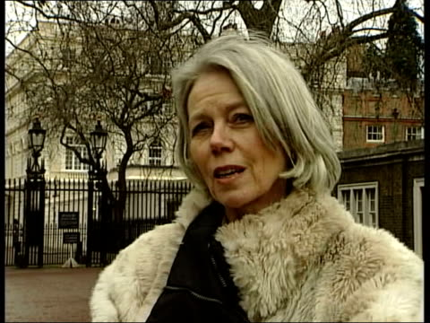 Prince Charles and Camilla Parker Bowles engagement Wedding date announced EXT Penny Junor interviewed SOT Think he felt the time was right/ it has...