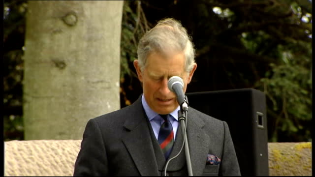 Prince Charles and Camilla unveil Queen Mother memorial gates Prince Charles speech SOT I miss my grandmother every day I miss her vitality her...