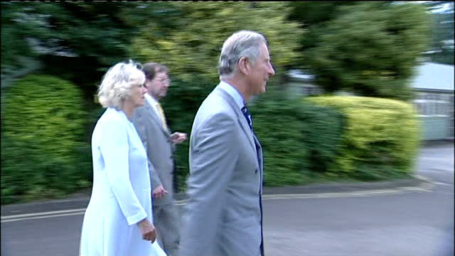 prince charles and duchess of cornwall visit bletchley park enigma machine in wooden case as shown to prince charles and camilla prince charles and... - enigma machine stock videos & royalty-free footage