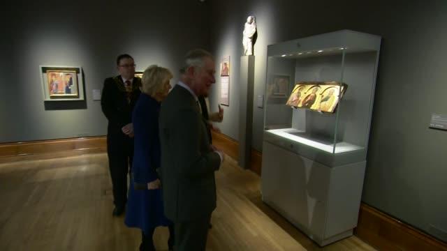 Prince Charles and Duchess of Cornwall visit Ferens Art Gallery ROYAL ARTS Prince Charles and Duchess of Cornwall visit Ferens Art Gallery Ferens Art...