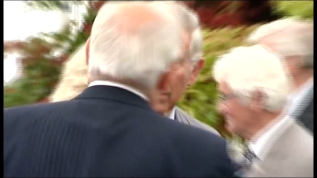 Prince Charles and Duchess of Cornwall visit Sandringham Flower Show Charles and Camilla at flower display / Basket of fruit and vegetables / Basket...