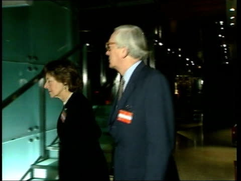 prince charles and prince william attend press complaints commission party england london somerset house photography** guests along corridor and up... - camilla duchess of cornwall stock videos and b-roll footage
