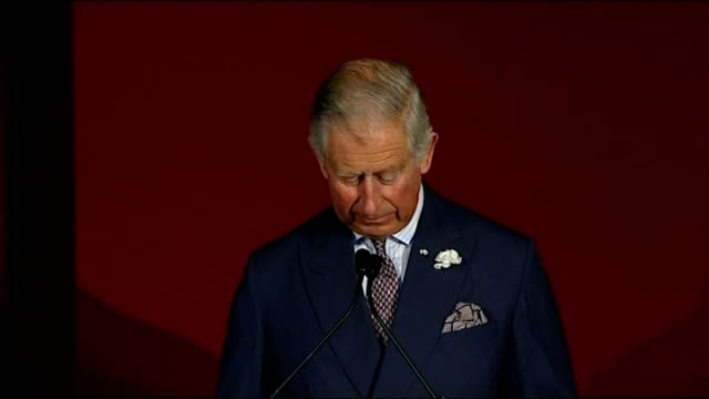 stockvideo's en b-roll-footage met prince charles and prince william host conference on poaching; england: london: st james's palace: int prince william, the duke of cambridge sat at... - kate silverton