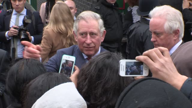 HRH Prince Charles at Celebrity Video Sightings on January 29 2013 in London England
