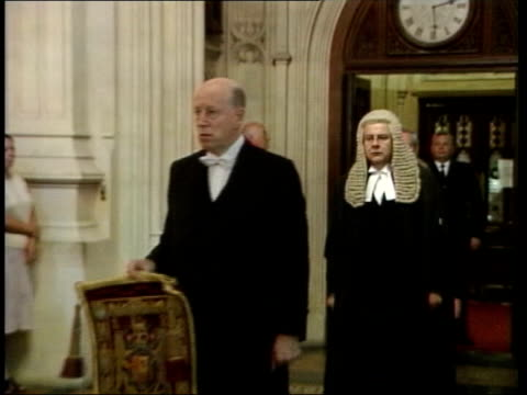 prince charles at centre of blocked publication rumours lib lord chancellor along past - publication stock videos & royalty-free footage