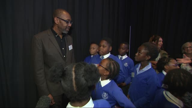 prince charles attends 'children and the arts' event at royal albert hall; england: london: south kensington: royal albert hall: sir lenny henry with... - lenny henry stock videos & royalty-free footage