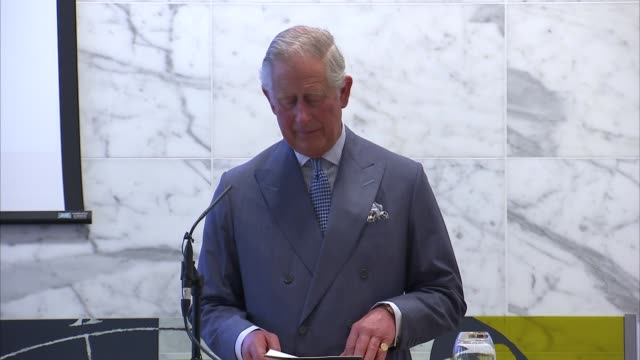 Prince Charles attends global health conference Prince Charles speech SOT On homeopathic medicine and work being done into Antimicrobial resistance