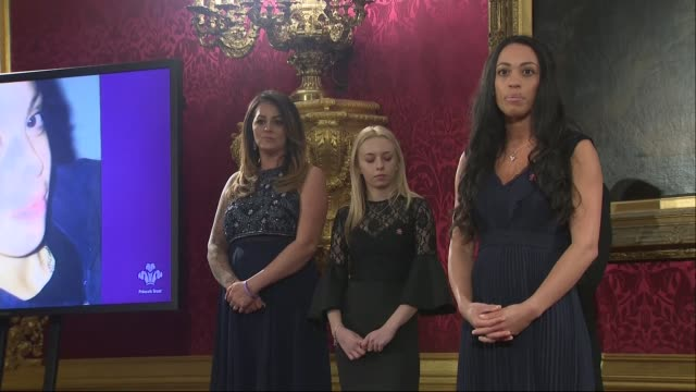 Prince Charles attends Prince's Trust reception at St James's Palace ENGLAND London St James's Palace PHOTOGRAPHY*** Dame Helen Mirren speech SOT...