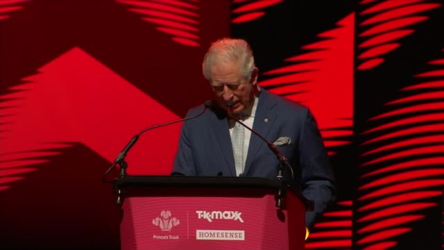 prince charles attends the princes trust awards at the london palladium; england: london: the london palladium: int princes trust awards show - part... - prince charles prince of wales stock videos & royalty-free footage