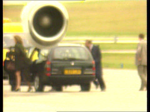 prince charles biography revelations scotland aberdeen airport prince charles out of car with prince william and prince harry pan rl as to aircraft... - camilla duchess of cornwall stock videos and b-roll footage