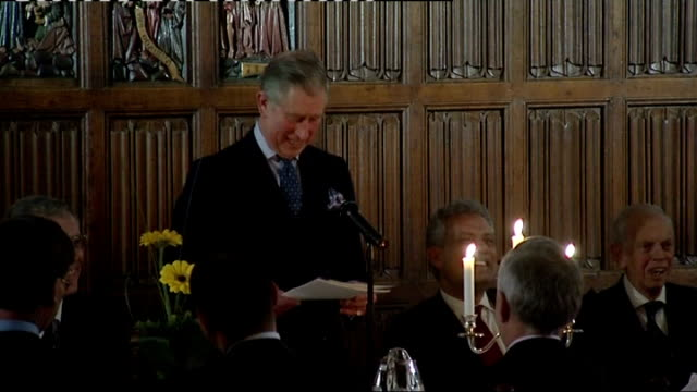 Prince Charles calls for understanding between faiths Prince Charles Prince of Wales speech SOT President Lord Chancellor Ladies and Gentlemen I...