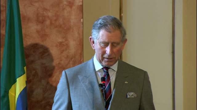 prince charles environment speech prince charles speech continued sot ladies and gentlemen i have always believed that we must look to business to... - responsibility stock videos & royalty-free footage