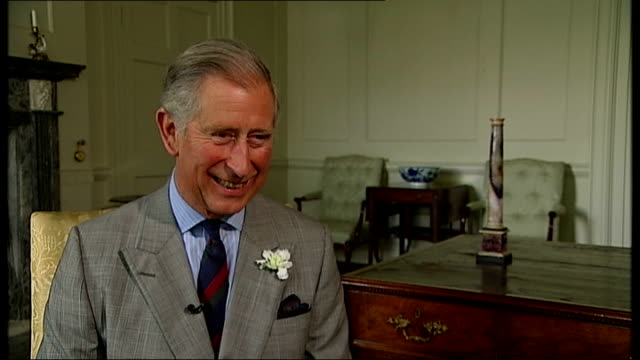 prince charles helps transform stately home dumfries house channel 4 news exclusive can be reused by all itn outlets prince charles into room and... - channel 4 news stock videos and b-roll footage