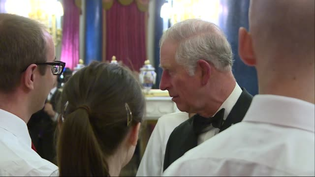 Prince Charles hosts 'One Million Young Lives Dinner' at Buckingham Palace ENGLAND London Buckingham Palace PHOTOGRAPHY*** Prince Charles Prince of...