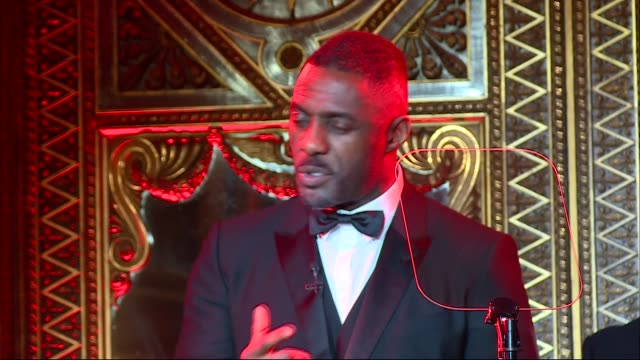 prince charles hosts 'one million young lives dinner' at buckingham palace; various shots of presentation idris elba speech sot various prince's... - beneficiary stock videos & royalty-free footage