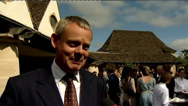 Prince Charles hosts reception for celebrity Ambassadors of The Princes Trust Martin Clunes interview SOT On what it's like to be an ambassador...