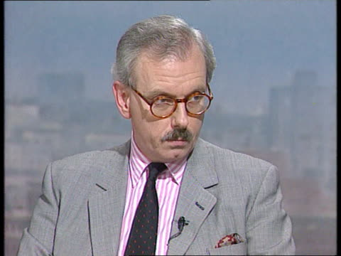 Prince Charles marriage controversy ITN London ITN Studio Dr David Starkey intvwd SOT the problem is would public opinion wear Charles' situation /...