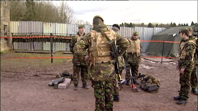 prince charles meets british troops training on salisbury plain charles towards in dune buggy / charles along and meeting troops next to weapons and... - dune buggy stock videos and b-roll footage