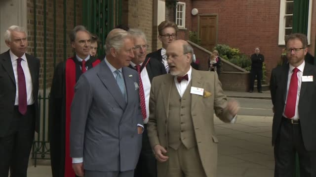 prince charles opens bekynton field development at eton college england berkshire windsor eton college ext prince charles prince of wales from car... - eton berkshire stock videos and b-roll footage