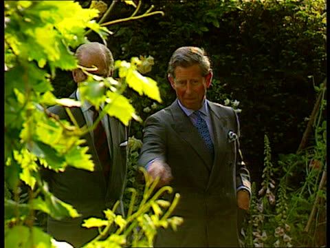 Prince Charles opens Millennium Seed Bank BBC West Sussex Prince Charles with other during opening of Millennium Seed Bank as pointing out details of...