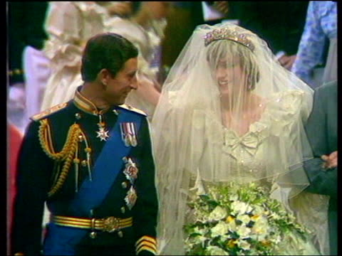 Prince Charles opens tallest glass palm house in Edinburgh 1981 London Westminster Abbey Prince Charles marrying Lady Diana Spencer Clean Feed Tape =...