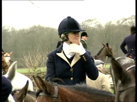 prince charles popularity lib nr highgrove camilla parkerbowles on horse at hunt meeting - camilla duchess of cornwall stock videos and b-roll footage