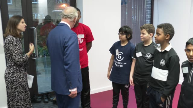 prince charles, prince of wales at opens the prince's trust south london centre on december 17, 2019 in london, england. - british royalty stock videos & royalty-free footage
