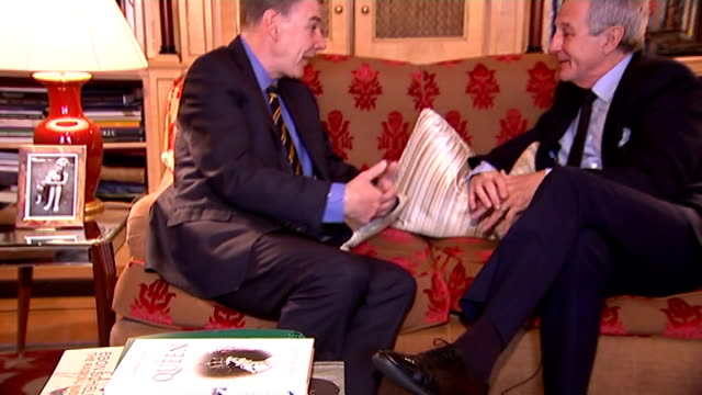 Prince Charles raises case of Raif Badawi during a meeting with the new king ENGLAND INT Robert Lacey set up shot with reporter / interview SOT