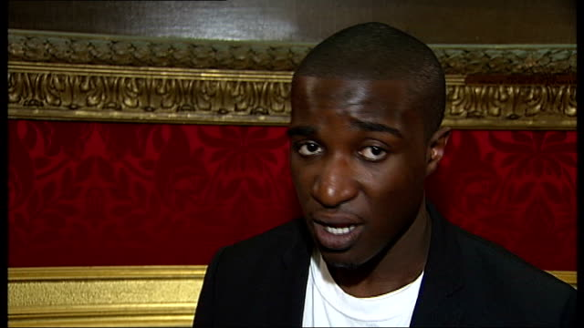 stockvideo's en b-roll-footage met prince charles reception for prince's trust football initiative ray ansah interview sot - initiatief