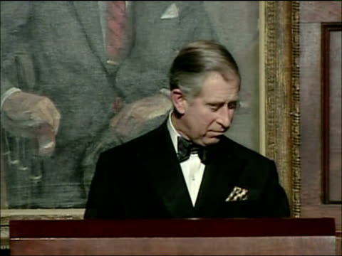 Prince Charles speech accepting Global Environmental Citizen Award Prince Charles Prince of Wales speech SOT I can't tell you how touched and...