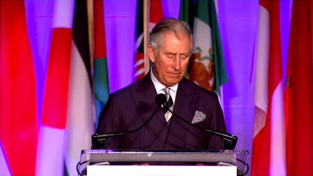 Prince Charles speech at ICCF Prince Charles speech SOT Protection of marine environment Conservation about development as much as protection work...