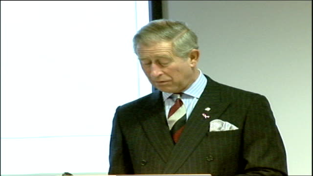 Prince Charles speech / Gordon Brown Social Responsibility Summit speeches I am full of admiration for Paul Gray who I know is continuing to ensure...